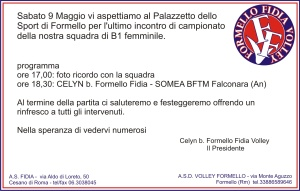 invito ultima partita 2008-9