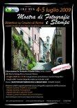 Manifesto della mostra fotografica Obiettivo su Cesano di Roma